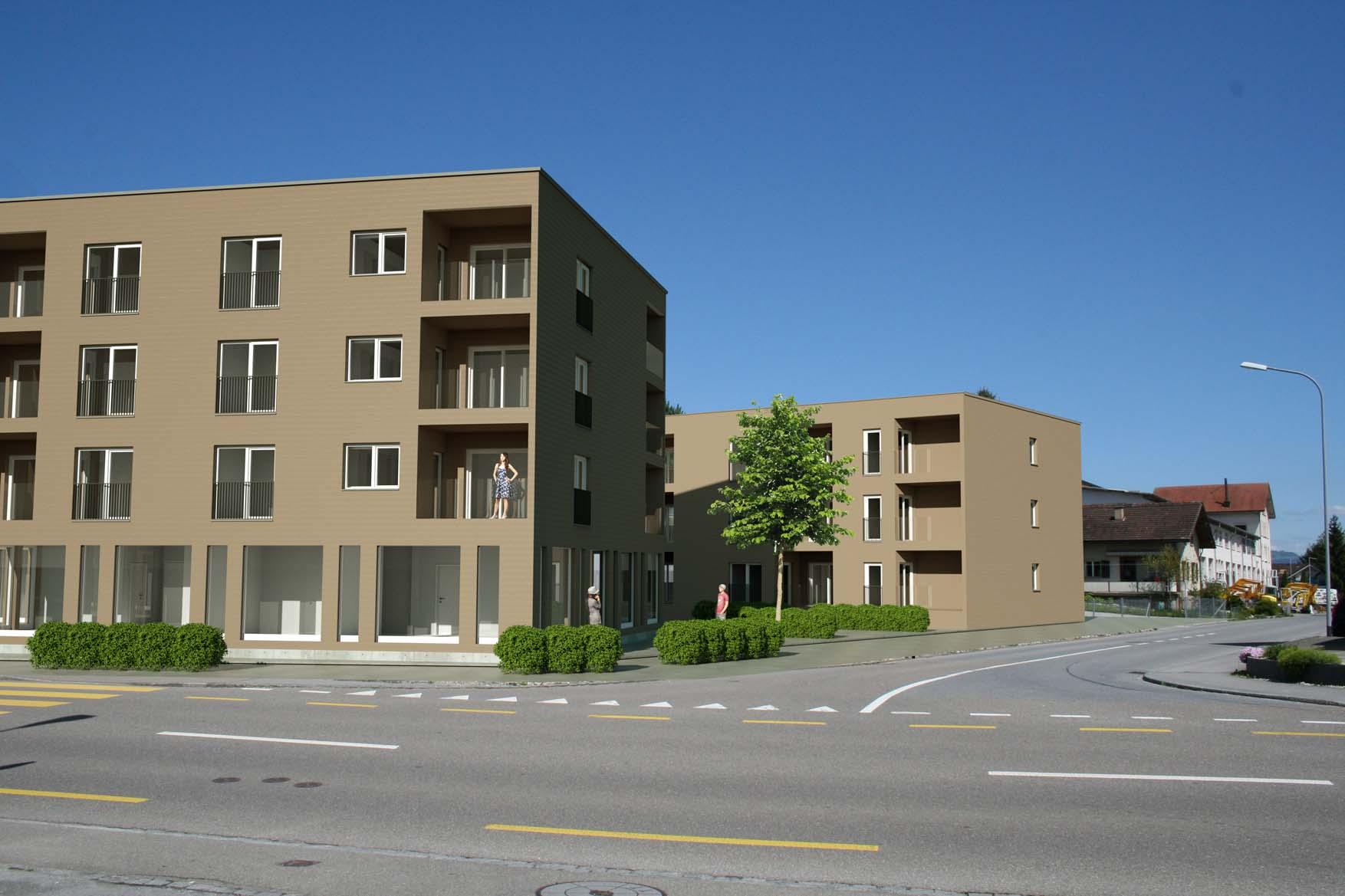 Wohnüberbauung 2 MFH <br/> 9443 Widnau