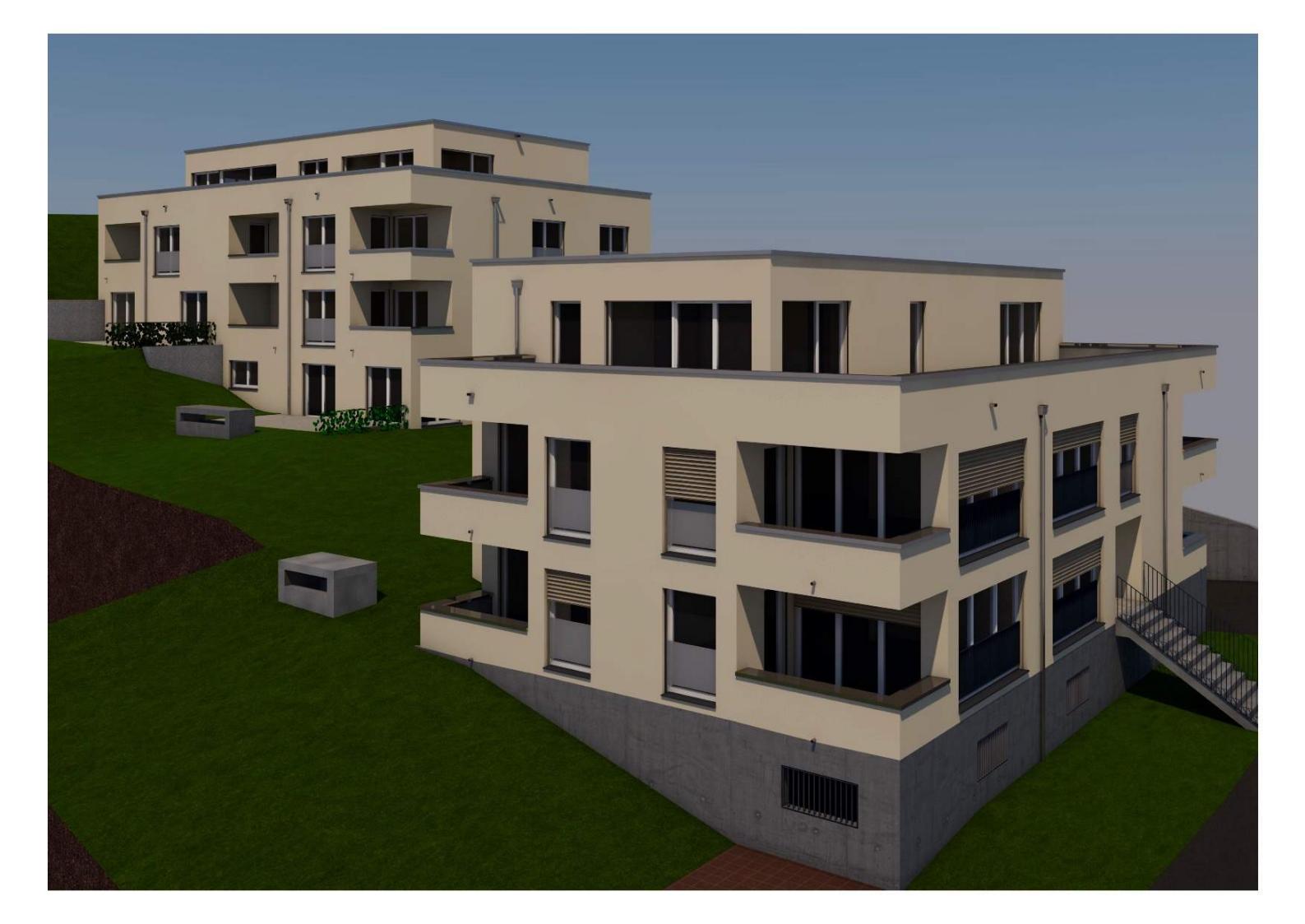 Wohnüberbauung 2 MFH <br/> 9011 St.Georgen